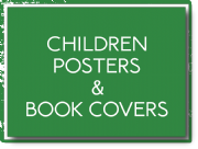 Children's posters and book covers